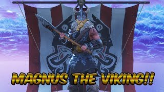 Fortnite Battle Royale - **NEW SKIN!! ** MAGNUS THE VIKING!! - TEARING UP VIKING VILLAGE!!