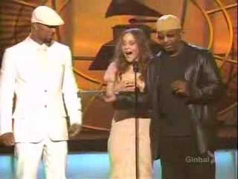 Fiona Apple presenting at the Grammy Awards