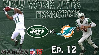 Jets Franchise Ep 12 Monday Night Football (Madden 15 Xbox One)