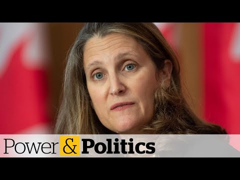 COVID-19 economic recovery requires sustained spending, Freeland says