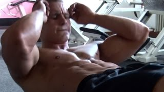 David P  - Training before contest, part 7 abdominals