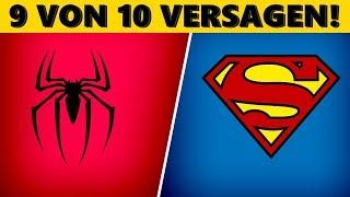 Superhelden an ihren Logos erkennen!
