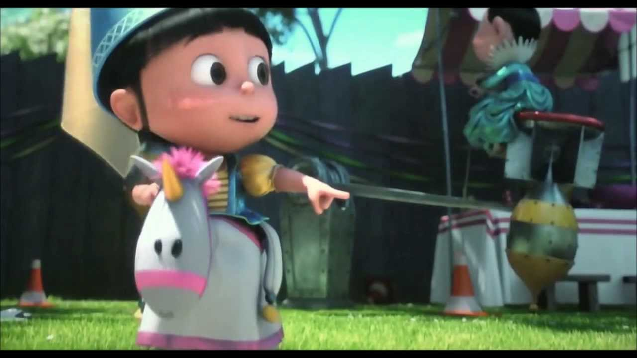 Girl Minion Wallpaper Despicable Me 2 Agnes S Birthday 1080p Hd Youtube