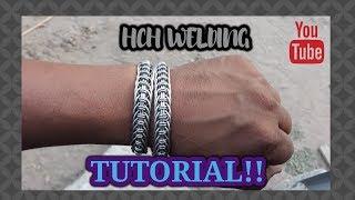 Tutorial pulsera apache Bracelet stainless steel 8 Manualidad