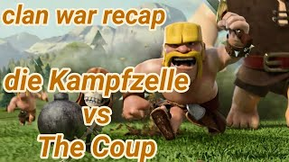die Kampfzelle vs The Coup | war recap | best of | TH 12 | COC clash of clans 03/19