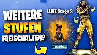 More STUFEN for Season 8 Level 100 SKIN Theory | Fortnite German