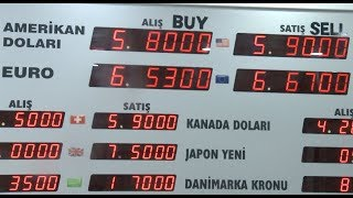 Turks Exchange Foreign Currencies to Lira to Support Economy