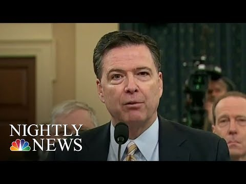James Comey's 7-Page Opening Statement Released Ahead Of Thursday Testimony | NBC Nightly News