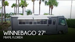 Used 1994 Winnebago Brave 27 Food Truck Conversion for sale in Miami, Florida