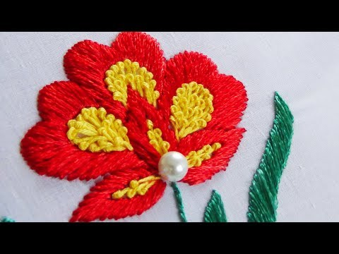 Hand Embroidery: Satin Stitch