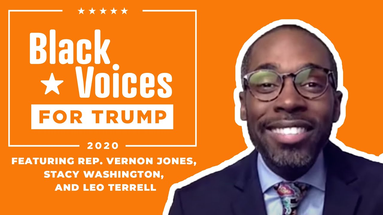 WATCH: Black Voices for Trump with Paris Dennard, Stacy Washington, Vernon Jones, and Leo Terrell