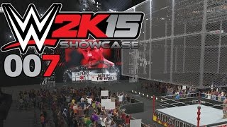 WWE 2K15 SHOWCASE #007: Triple Threat HELL IN A CELL «» Let's Play WWE 2K15