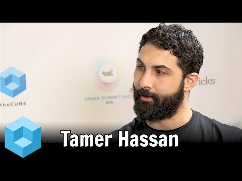 Tamer Hassan – Spark Summit East 2016 – #SparkSummit – theCUBE