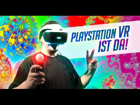 Uffruppe #191 - PlayStation VR + VR Cam + Move VR