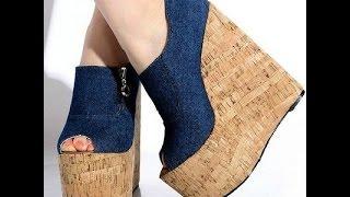 Туфли на Танкетке - купить - 2018 / Wedge Shoes - Buy