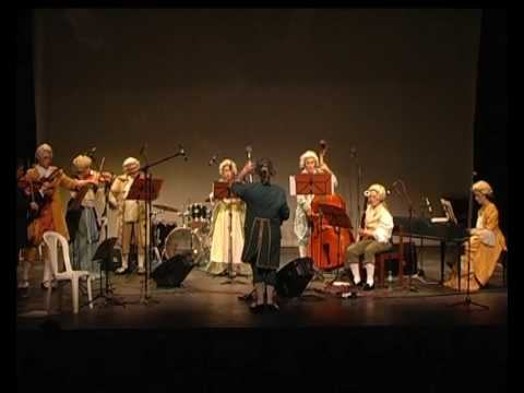 Johann Sebastian Bach concierto para clave en fa menor