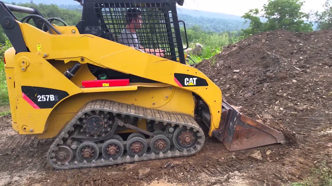 Caterpillar 257b2 Compact Tracked Skid Steer Loader