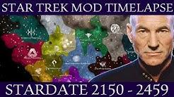 Stellaris: Star Trek Galactic Timelapse (2150-2459)