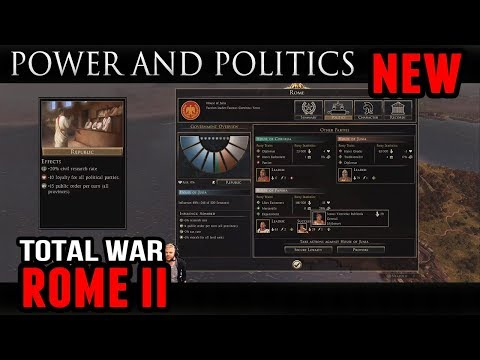 Power and Politics Update for Rome II (New FLC Information)