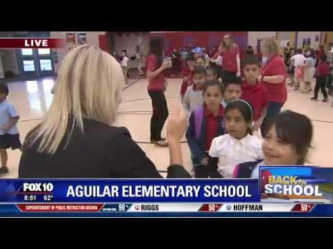 Back to school: Aguilar Elementary School