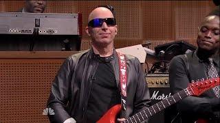 Joe Satriani Tonight Show 2015