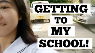 Japan Exchange: Getting to School in Japan! 学校へ行こう!! | Euodias
