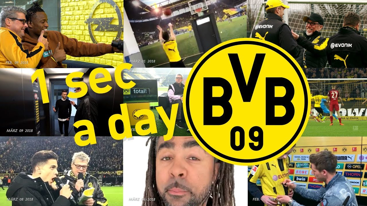 1 second a day | Borussia Dortmunds Rückrunde 2018