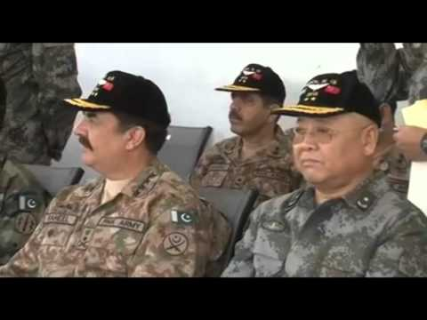 Pakistan-China - Special Operations Exercise - Warrior III -2015