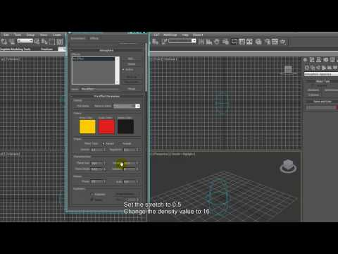 3d Studio Max tutorial - fire effect