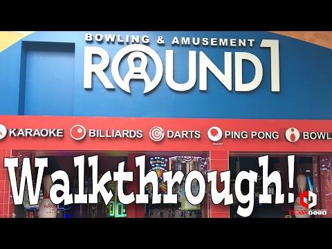 Round1 Grapevine Mills Walkthrough | Japanese UFO Catcher Arcade Walk Around | ClawD00d