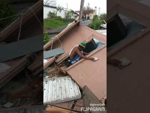 Hurricane Maria St. Croix US Virgin Islands