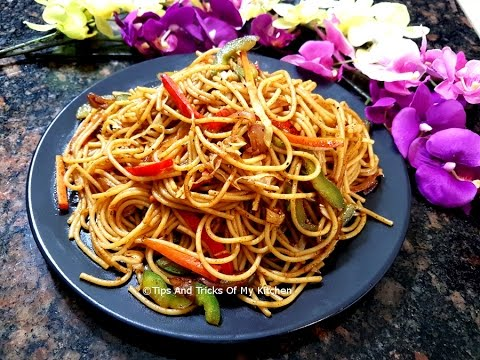veg chow mein recipe in hindi vegetable chowmein indian style how to make veg chow mein. Black Bedroom Furniture Sets. Home Design Ideas