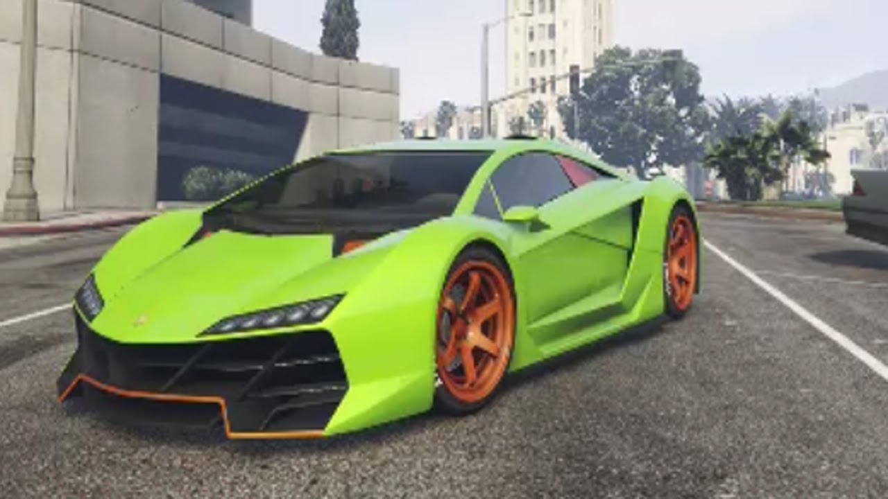 Grand Theft Auto 5 - Zentorno Customization (Next Gen ...