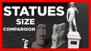 STATUES Size COMPARISON 🗿