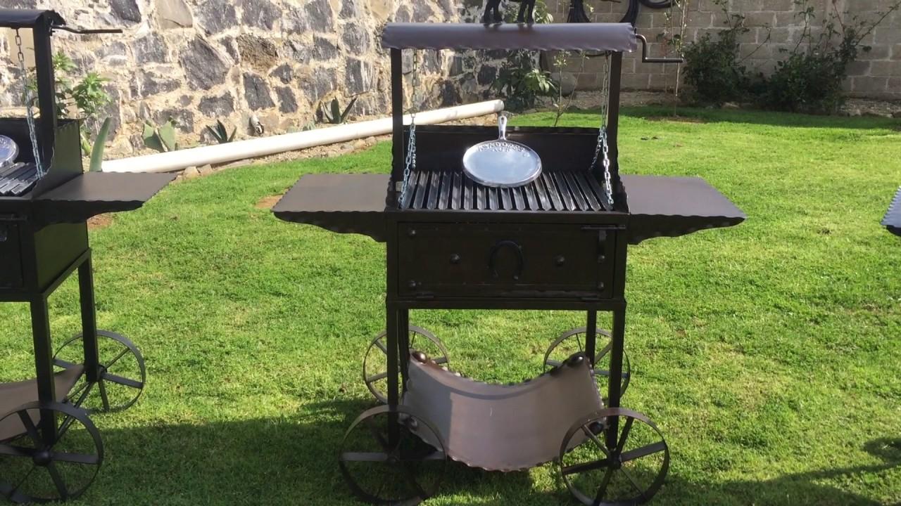 Asador agp para carne al carbon asadores youtube for Asadores de carne para jardin