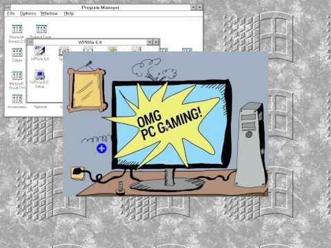Vintage PC forever... +15 Originals Games (Xenix System V/DOS 7.1/Windows 3.11)
