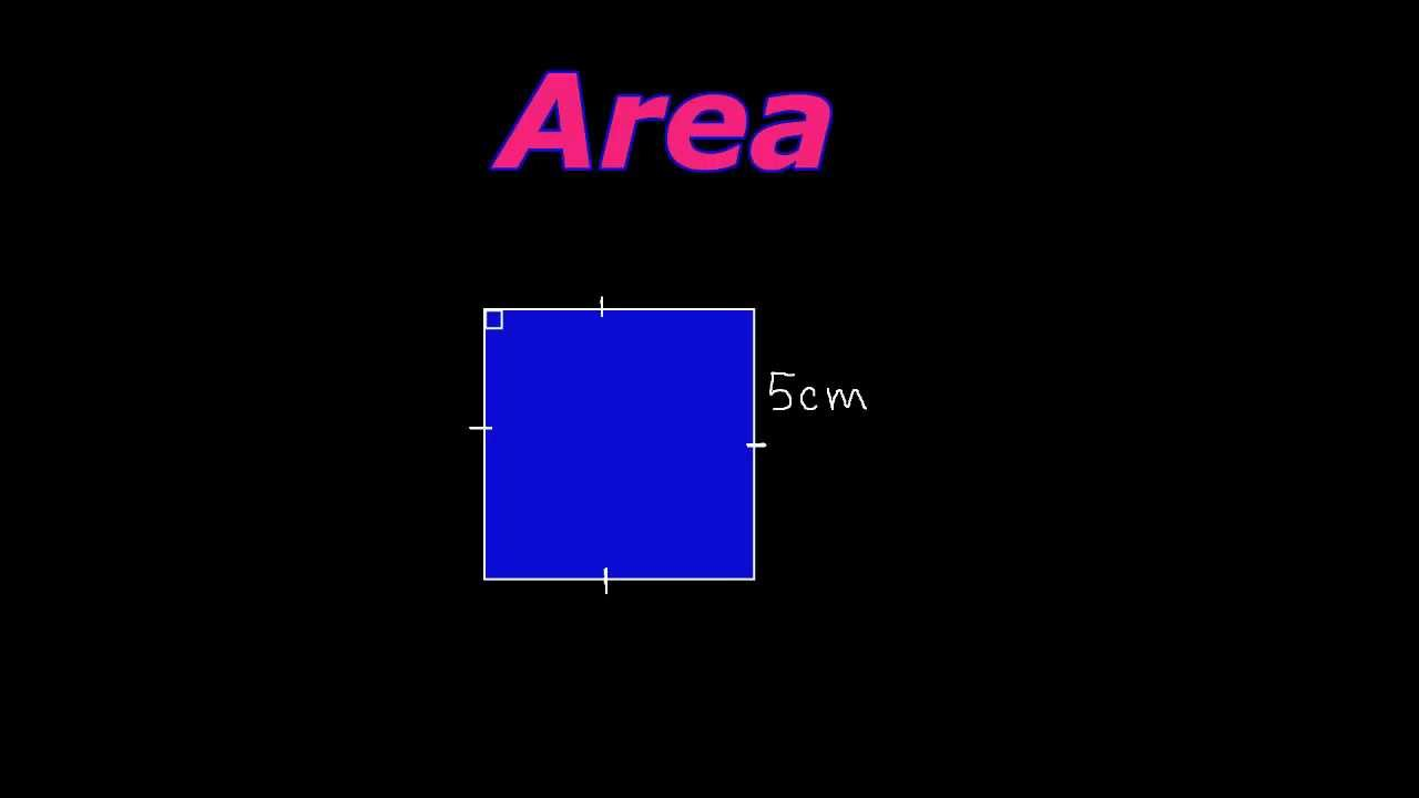 How To Find The Area And Perimeter Of A Square!