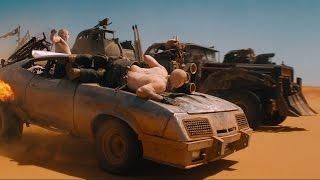 Накс форсирует двигатель фуры — «Безумный Макс: Дорога ярости» (2015) сцена 8/10 HD