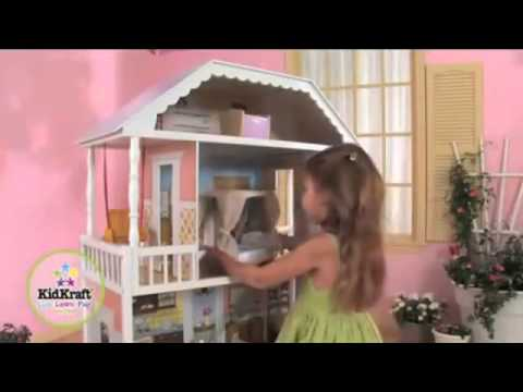 kidkraft-savannah-dollhouse-65023-review---wooden-barbie-doll-house