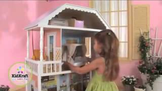 Kidkraft Savannah Dollhouse 65023 Review - Wooden Barbie Doll House