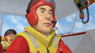 Fireman Sam New Episodes | All at Sea - BEST of Ben, the coastguard! 🚒 🔥 Cartoons for Children