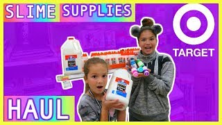 "SHOPPING SLIME SUPPLIES AT TARGET , BIG HAUL ""SISTER FOREVER"""