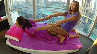 Traditional Thai Massage Therapy by Thai Woman