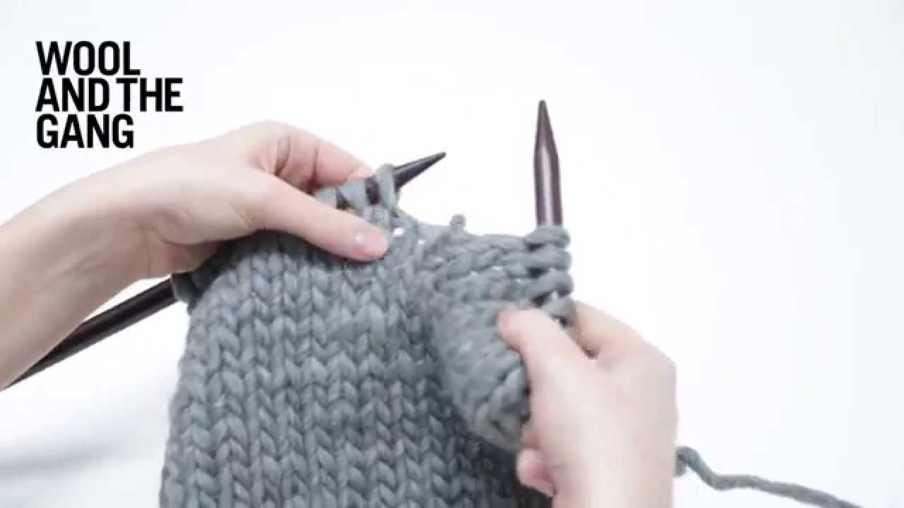 How to fix having too many knitting stitches - YouTube