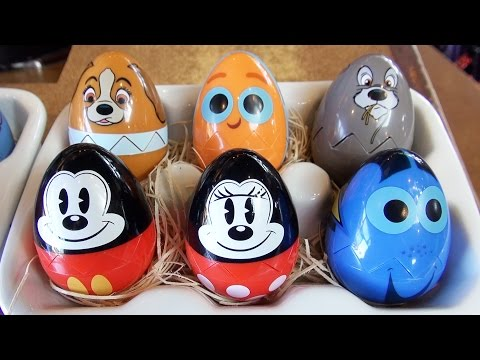 Epcot Egg-stravaganza 2017 Disney Characters Egg Hunt Around World Showcase (SPOILERS)