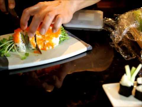 HD cách làm sushi tại nhà (episode 5)