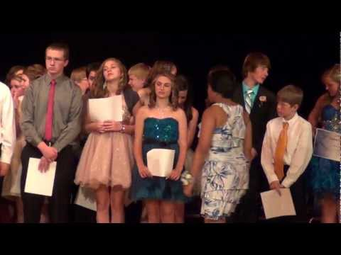 Cramer Junior High School Awards..United States History ..By Mr. Glasgow...June 5th, 2012