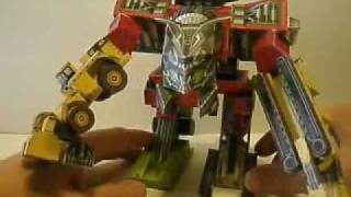 Movie Devastator Papercraft -Revenge of the Fallen
