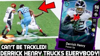 DERRICK HENRY TRUCKS EVERYBODY IN HIS PATH! NASTY STIFF ARMS! Madden 20 Ultimate Team