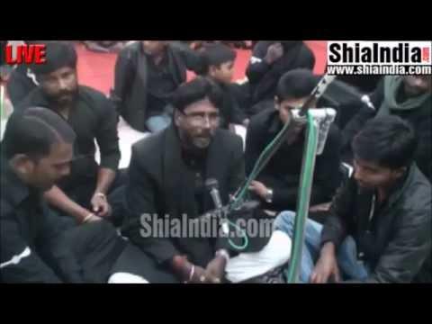 Zakhmi sina se ran mein jo shah ka pisar huwa marsiya by Samsaam Ali